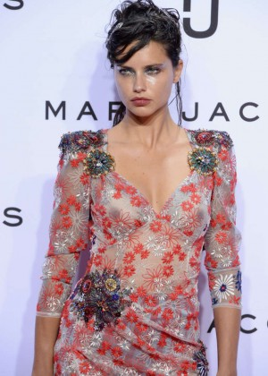 Adriana Lima - Marc Jacobs Fashion Show Spring 2016 NYFW in NYC