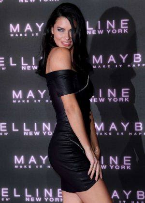Adriana Lima - Maybelline Bring on the Night Party 2017 in London