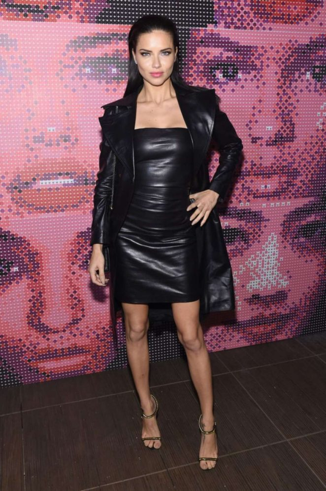 Adriana Lima - Maybelline MYFW Welcome Party in New York