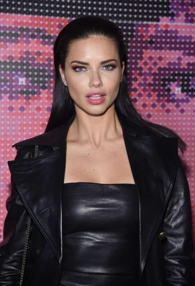 Adriana Lima: Maybelline MYFW Welcome Party -07