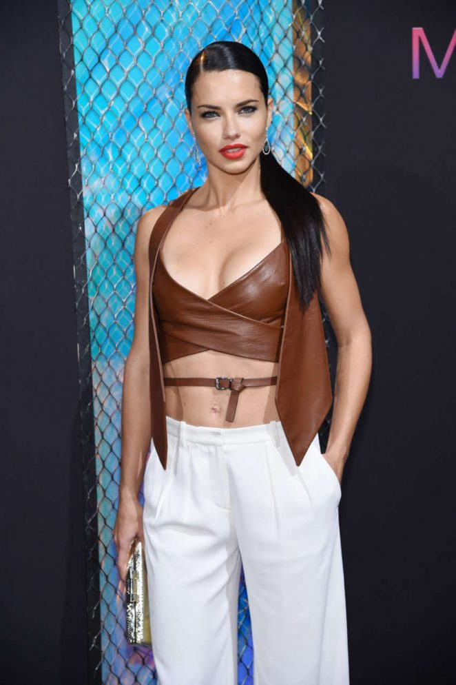 Adriana Lima - Maybelline New York NYFW Kick-Off Party in New York City
