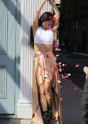 Adriana Lima - Maybelline Photoshoot in New York