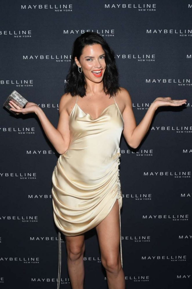 Adriana Lima - Maybelline x New York Fashion Week XIX Party in NYC