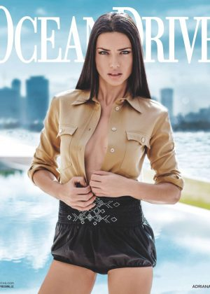Adriana Lima - Ocean Drive Magazine (March 2017)