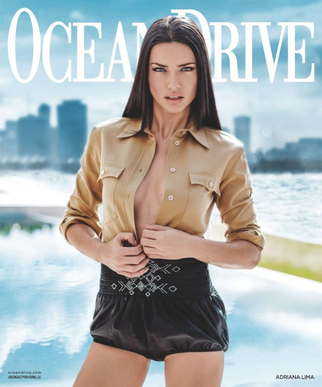 Adriana Lima – Ocean Drive Magazine (March 2017)