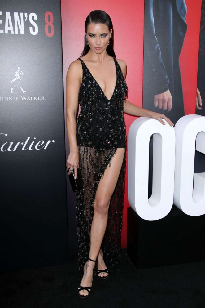Adriana Lima - Ocean's 8 Premiere photocall In New York