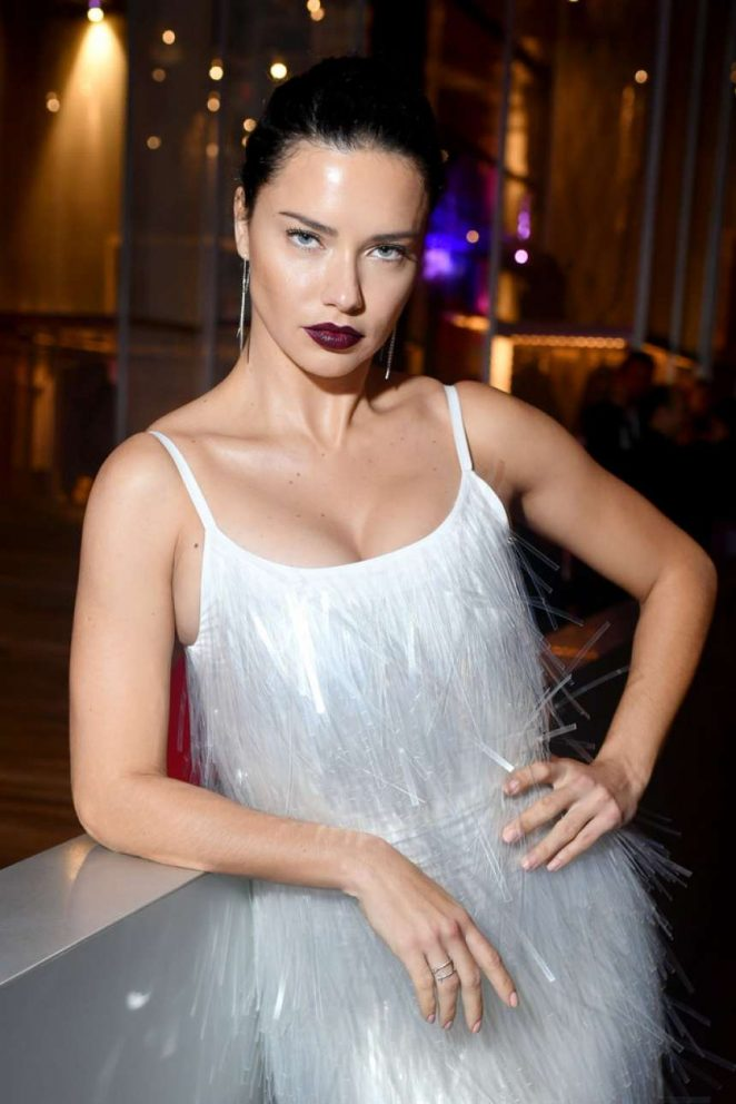 Adriana Lima – Prada Presents Prada Linea Rossa in NYC
