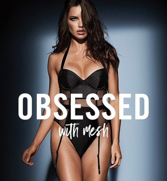 Adriana Lima - Promotes new Obsessed 2017 Collection by Victoria's Secret