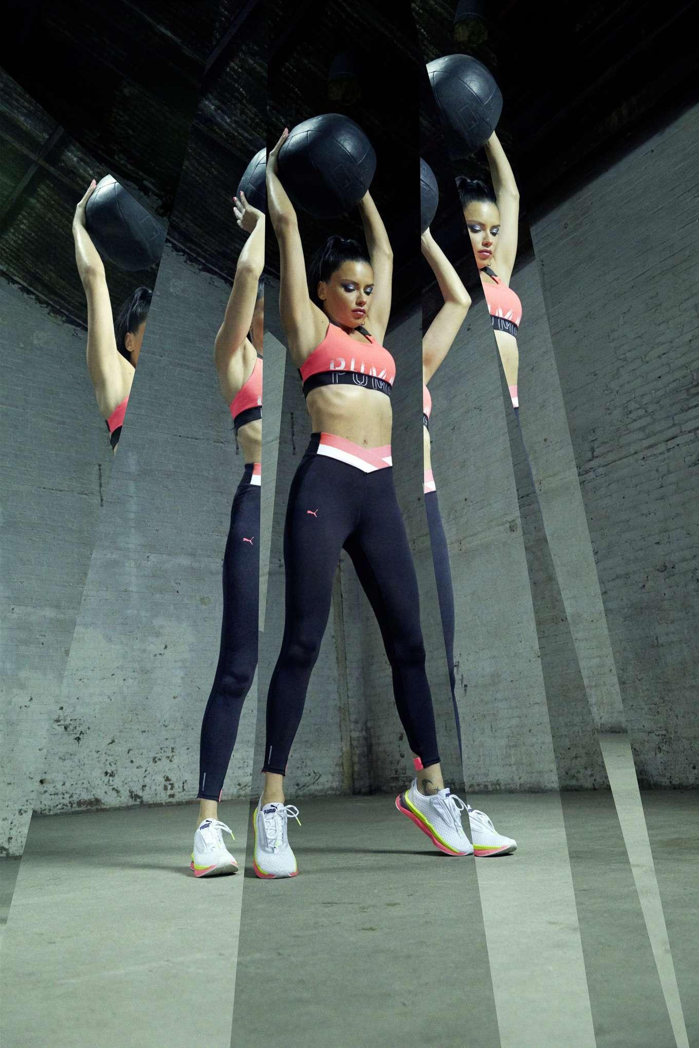 Adriana Lima - PUMA campaign 2019