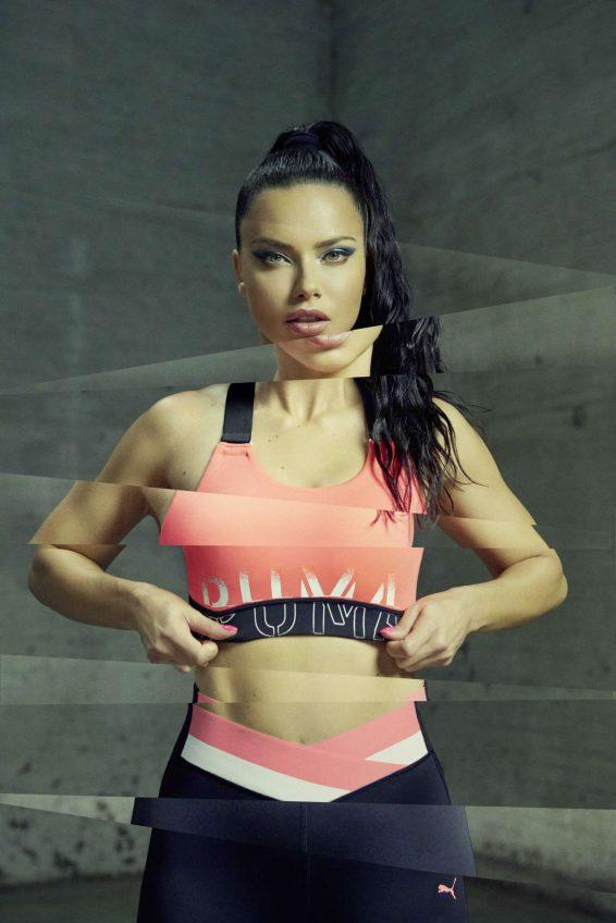 Adriana Lima - Puma Campaign (July 2019)