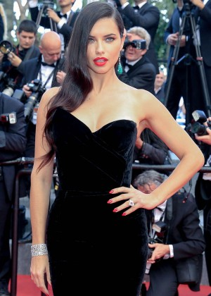 """Adriana Lima - """"Sicario"""" Premiere in Cannes"""