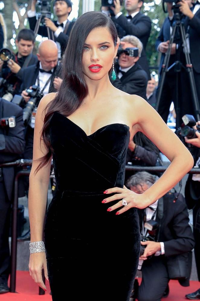 """Adriana Lima – """"Sicario"""" Premiere at The 68th Annual Cannes Film Festival"""