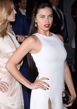 Adriana Lima - Soiree Chopard 'Gold Party' in Cannes