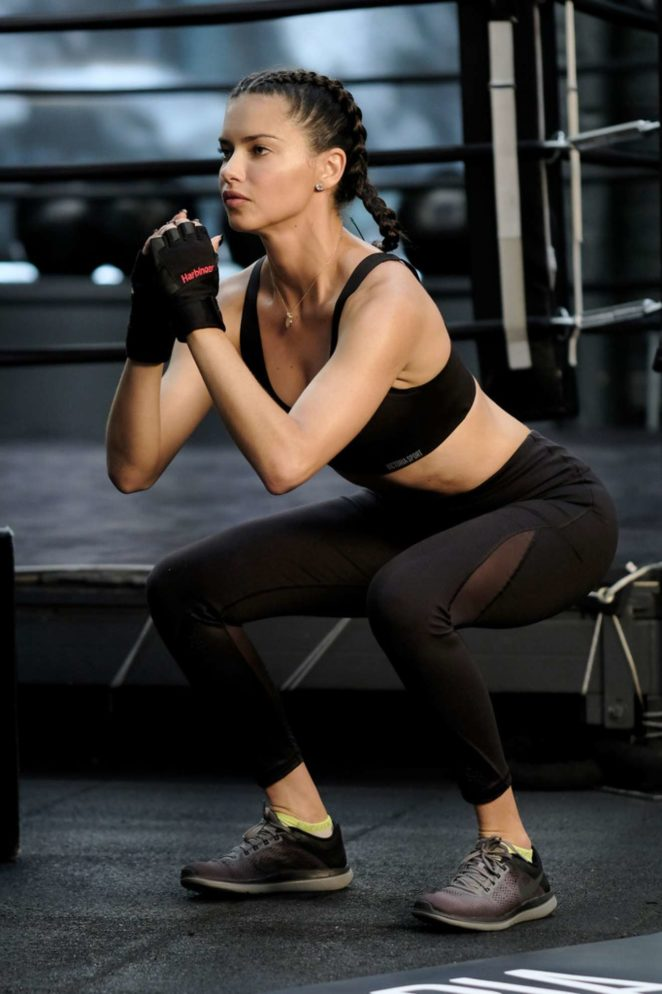 Adriana Lima - Train Like a Victoria's Secret Angel in NYC