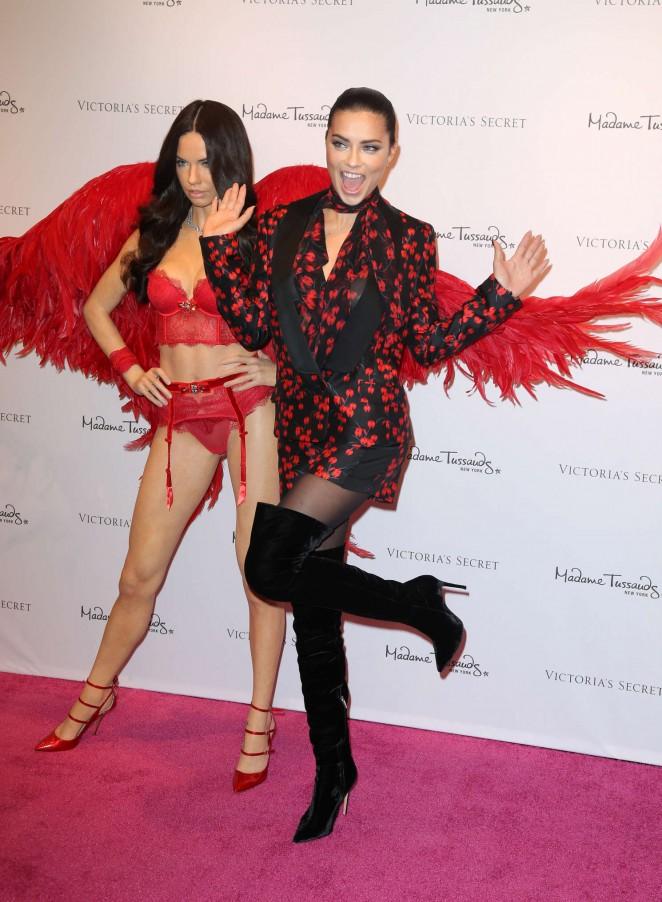 Adriana lima unveils her madame