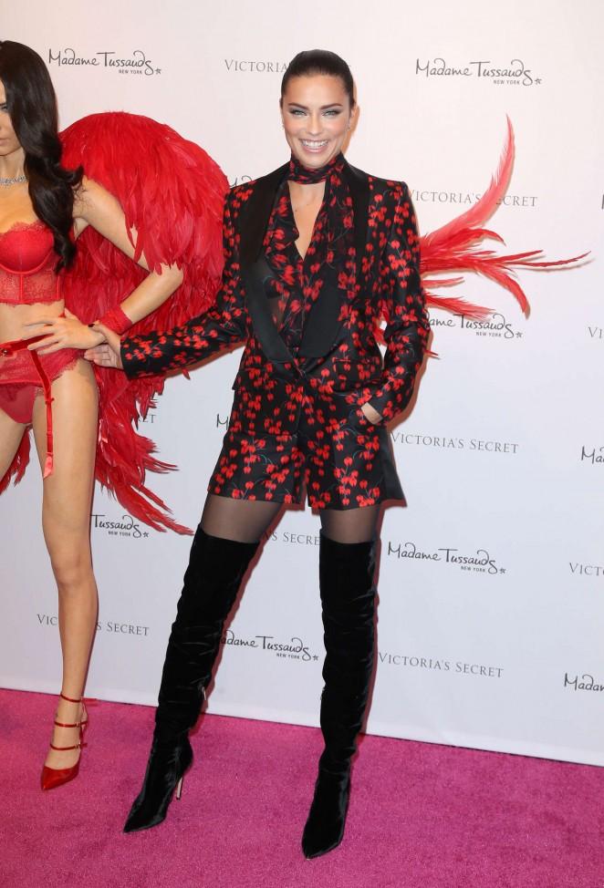 Adriana Lima Unveils Her Madame Tussauds Wax Figure