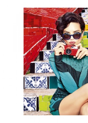 Adriana Lima - Vogue Eyewear Fall 2015 Ad Campaign