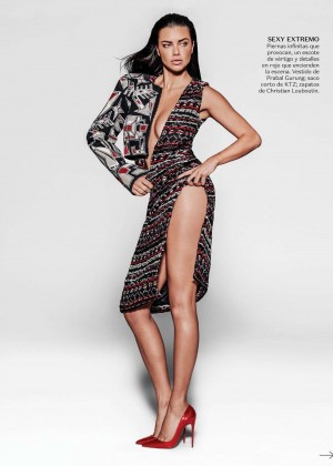 Adriana Lima - Vogue Mexico (July 2015)