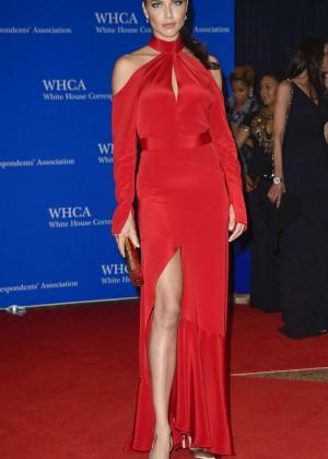 Adriana Lima - White House Correspondents Dinner in Washington
