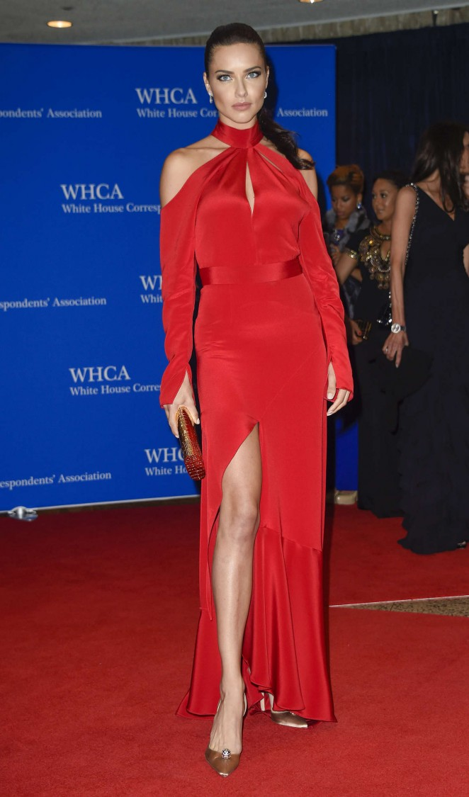 Adriana Lima – White House Correspondents Dinner in Washington