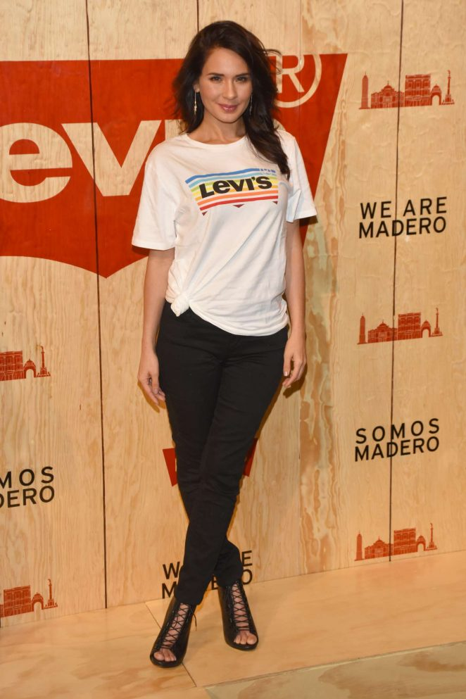 Adriana Louvier - Levi's Store Opening in Mexico City