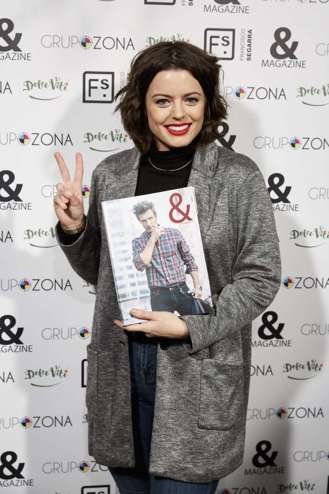 Adriana Torrebejano - 'And Magazine no. 9' Launch Event at Francisco Segarra Store in Madrid