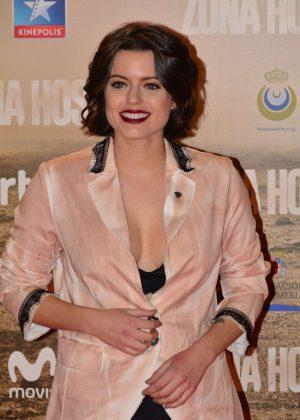 Adriana Torrebejano - 'Zona Hostil' Premiere in Madrid