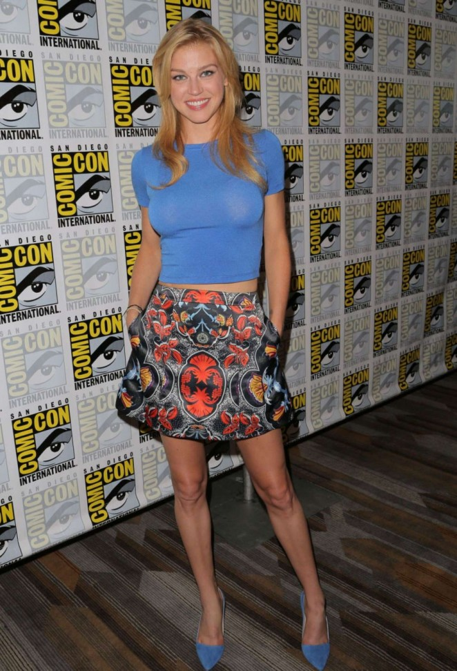 Adrianne Palicki - Agents of SHIELD Press Line at Comic Con in San Diego