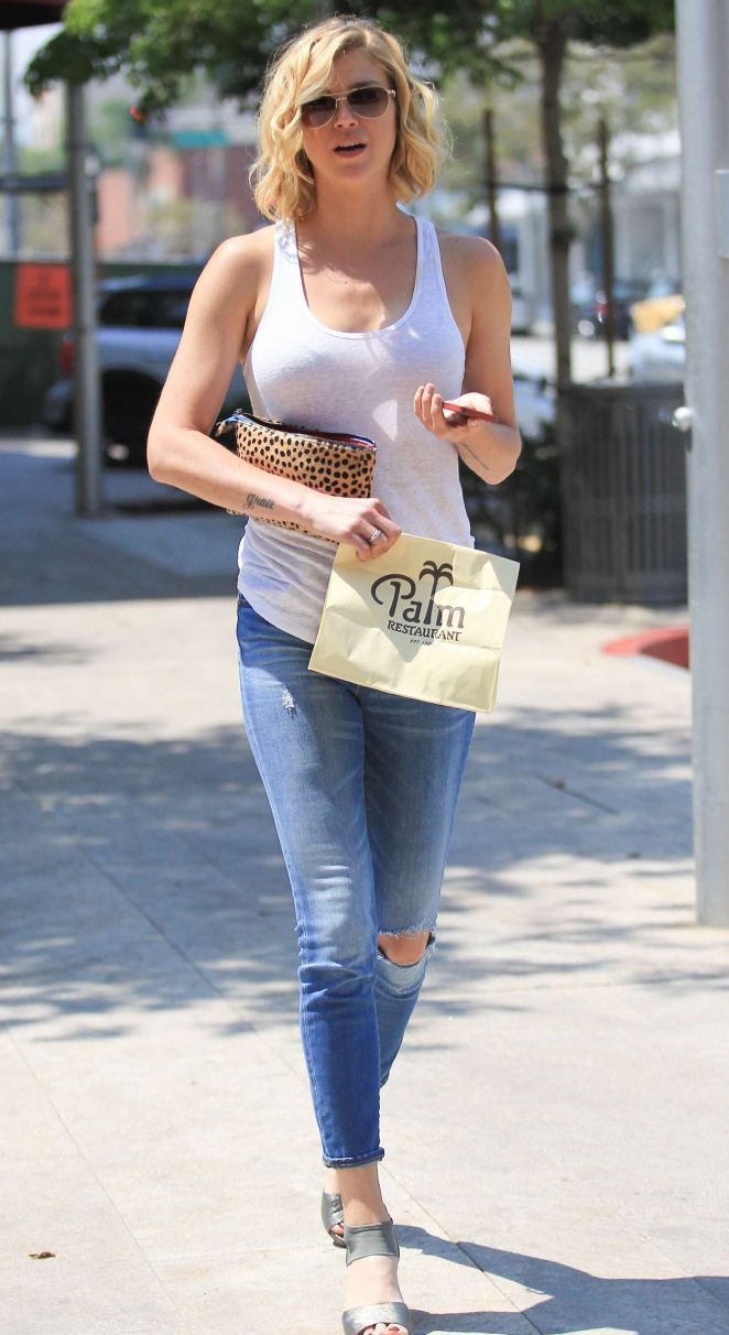 Adrianne Palicki in Jeans out in Beverly Hills