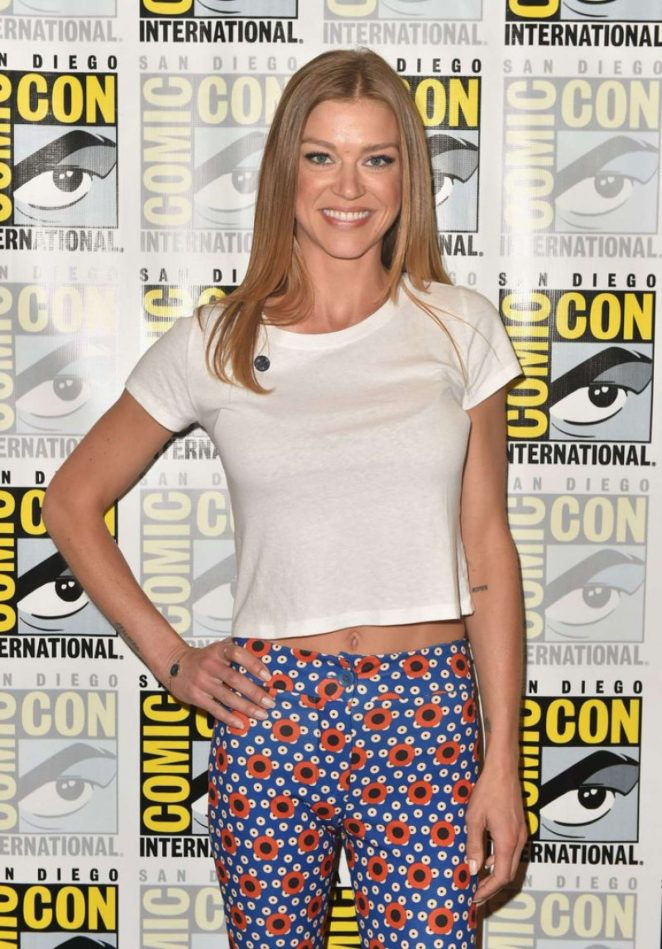 Adrianne Palicki – 'The Orville' Press Line at 2018 Comic Con in San Diego