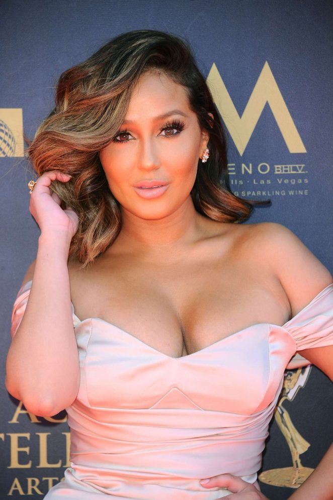Adrienne Bailon - 2017 Daytime Emmy Awards in LA