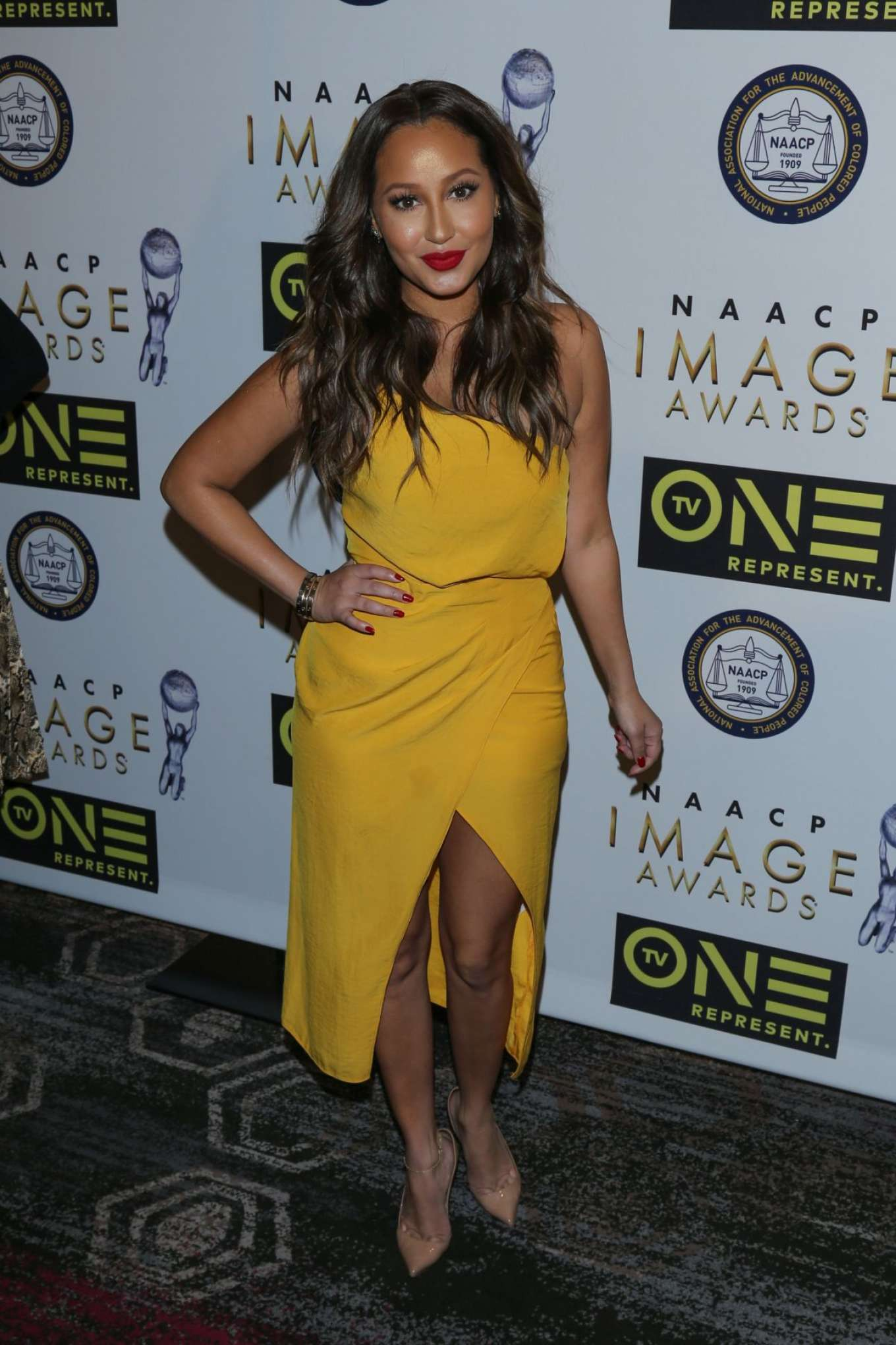 Adrienne bailon imagen awards in los angeles - 2019 year