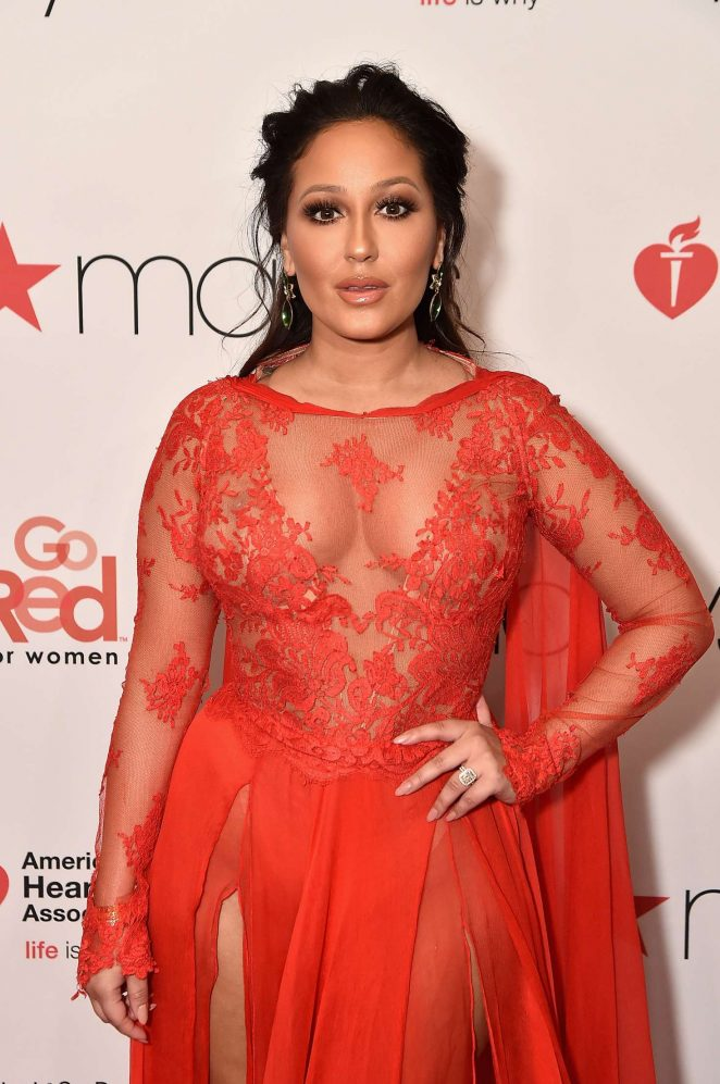 Adrienne Bailon - American Heart Association's Go Red for Women Red Dress Collection 2018 in NY