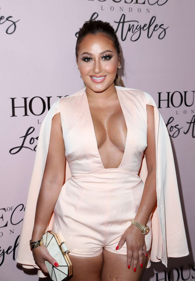 Adrienne Bailon - House of CB Launch in West Hollywood