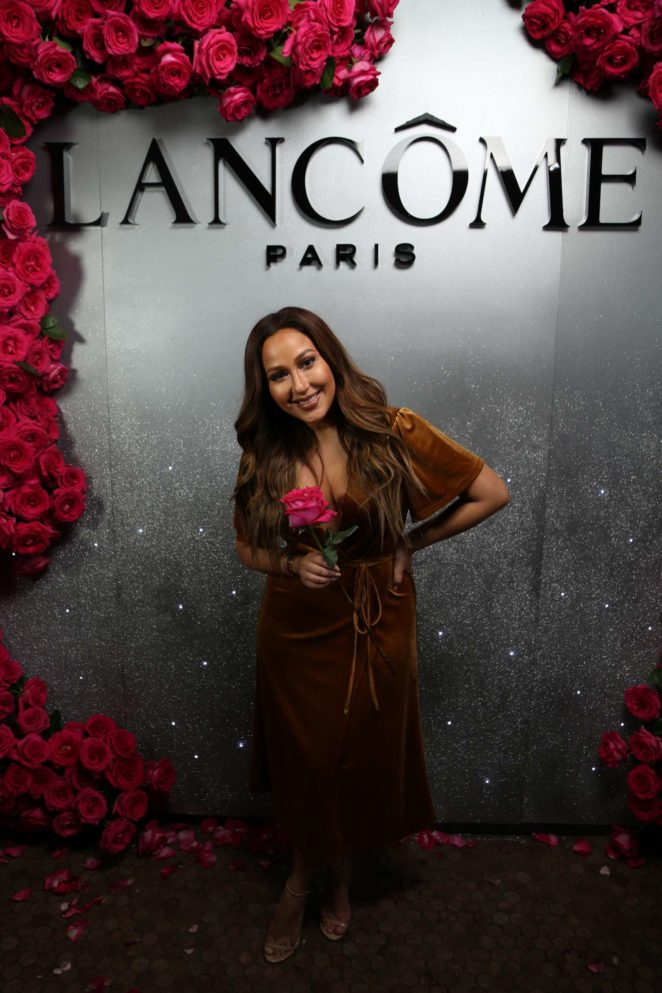 Adrienne Bailon - Lancome x Vogue Holiday Party Photo Booth in LA