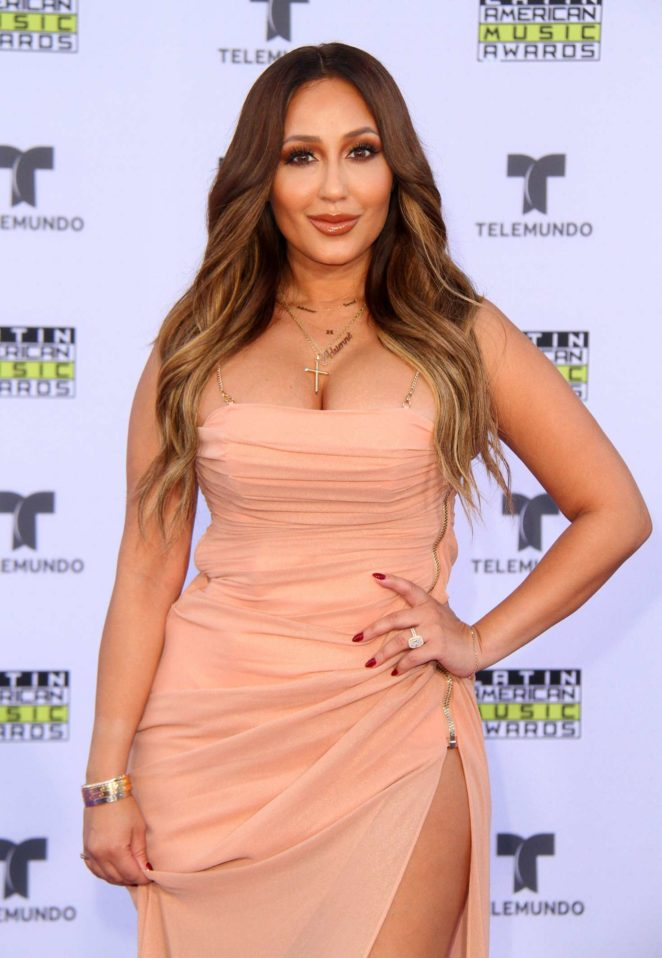 Adrienne Bailon - Latin American Music Awards 2017 in Los Angeles