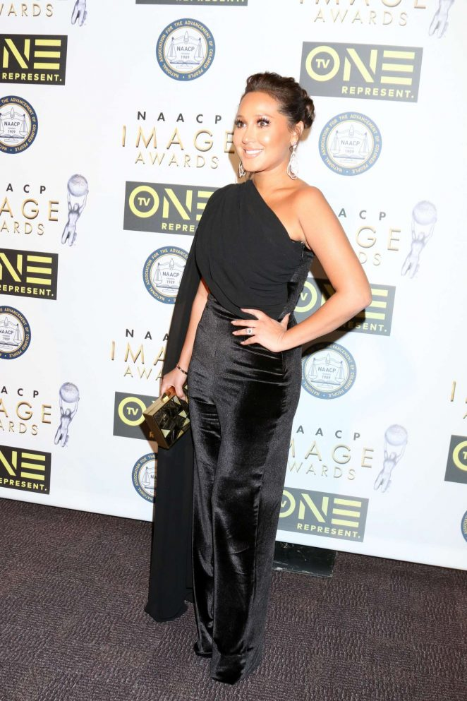 Adrienne Bailon - Non-Televised 48th NAACP Image Awards in Pasadena