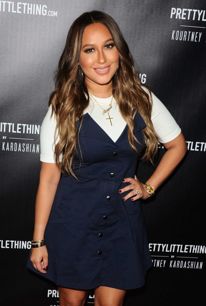 Adrienne Bailon - PrettyLittleThing Launch Party in Los Angeles