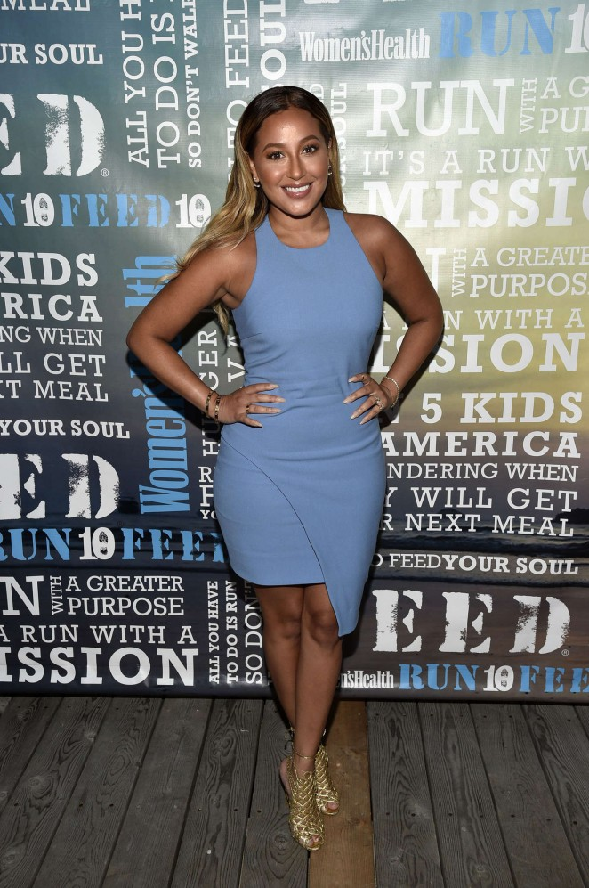 Adrienne Bailon - Women's Health's 4th Annual Party Under The Stars in NY