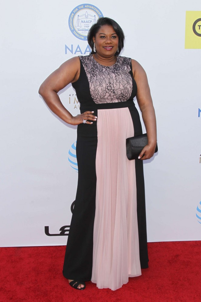 Adrienne C. Moore - 2016 NAACP Image Awards in Pasadena