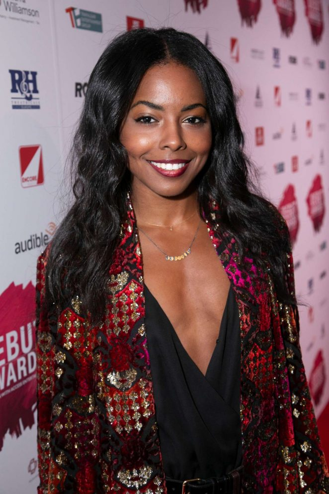 Adrienne Warren - 2018 Stage Debut Awards in London