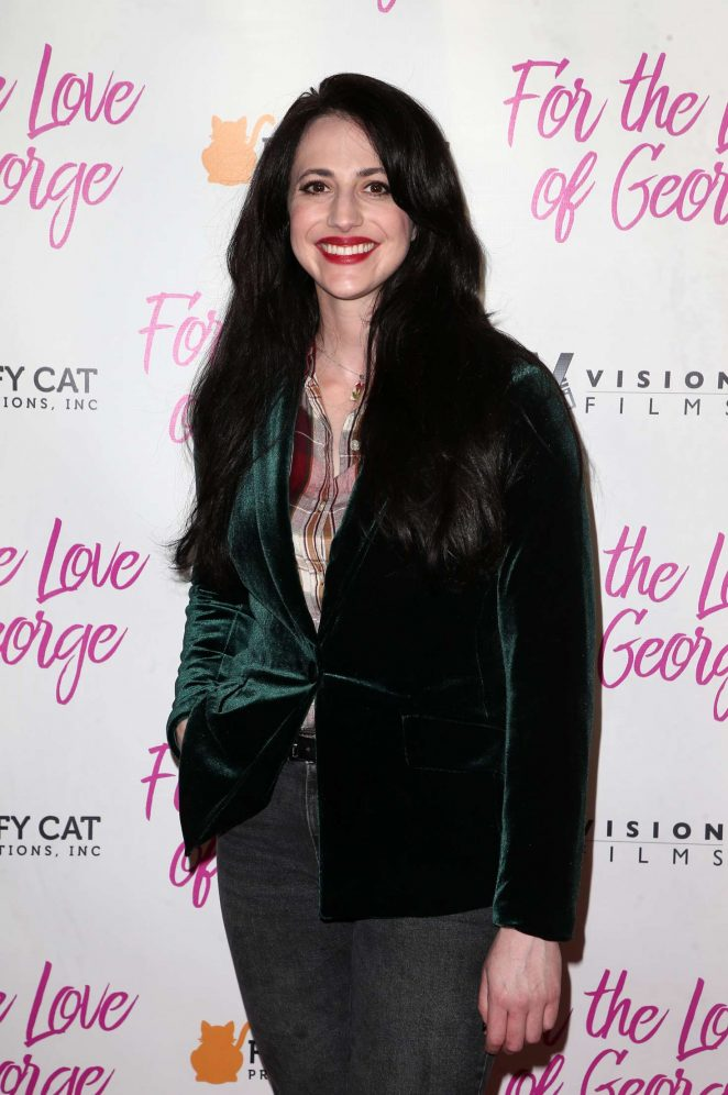 Adrienne Whitney Papp - 'For The Love Of George' Premiere in Los Angeles