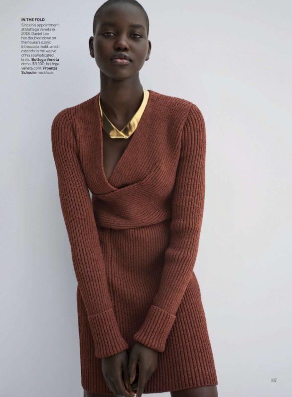 Adut Akech - Vogue US Magazine (February 2020)
