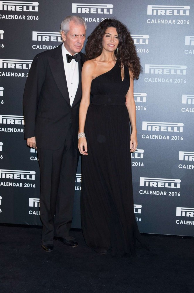 Afef Jnifen - Pirelli Calendar 2016 Gala Evening in London