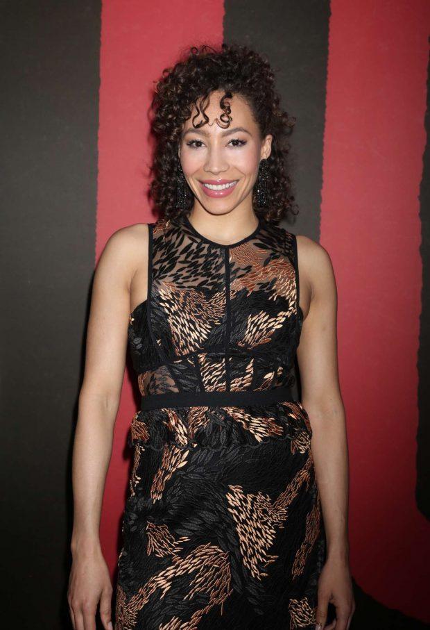 Afra Hines - 'Hadestown' Broadway Opening Night in New York