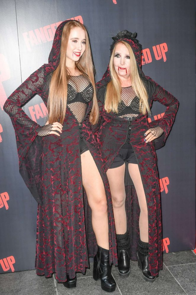 Afton and Gillian McKeith - 'Fanged Up' Premiere in London