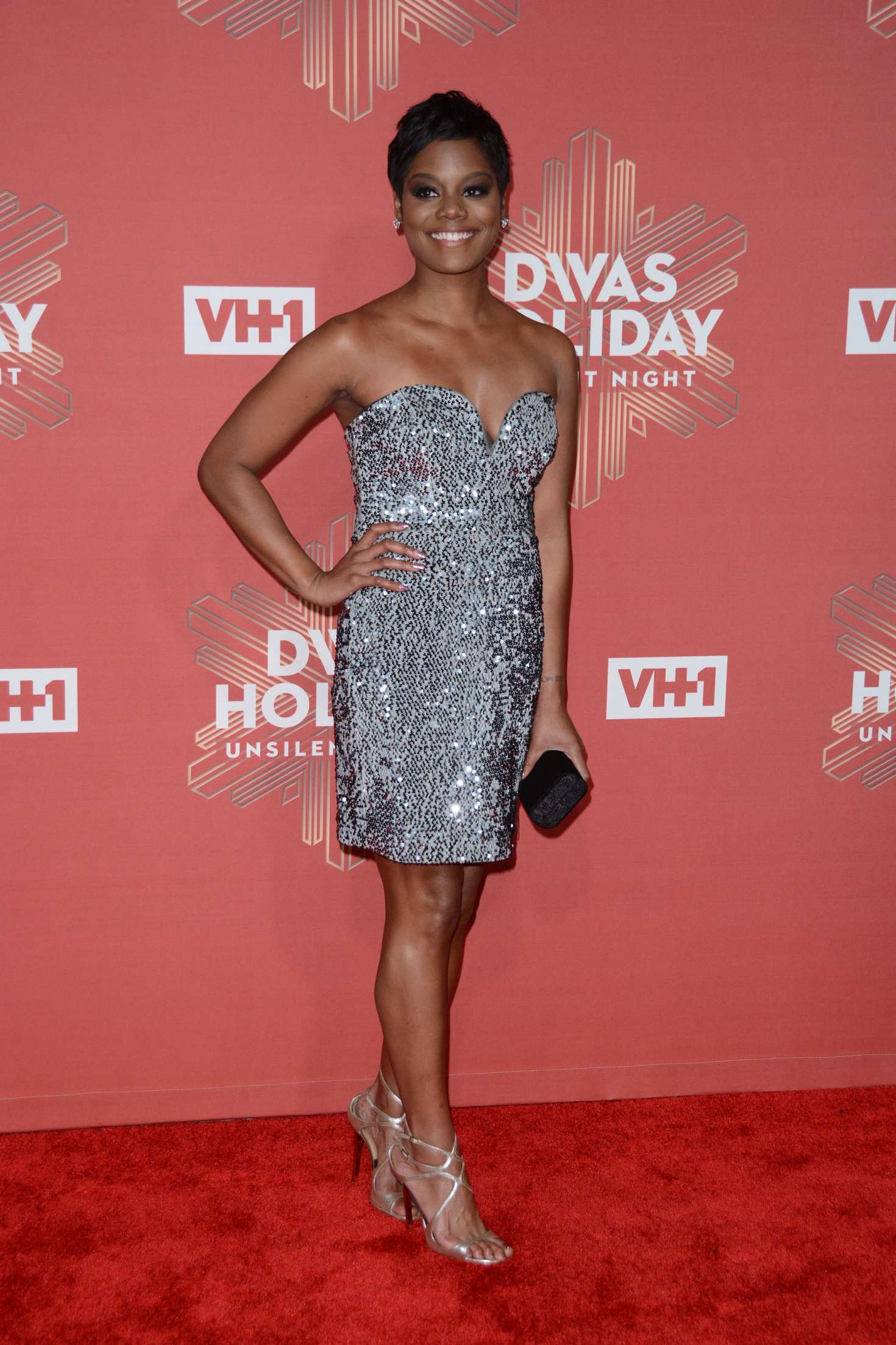 Afton Williamson: 2016 VH1s Divas Holiday: Unsilent Night -02 - Full Size