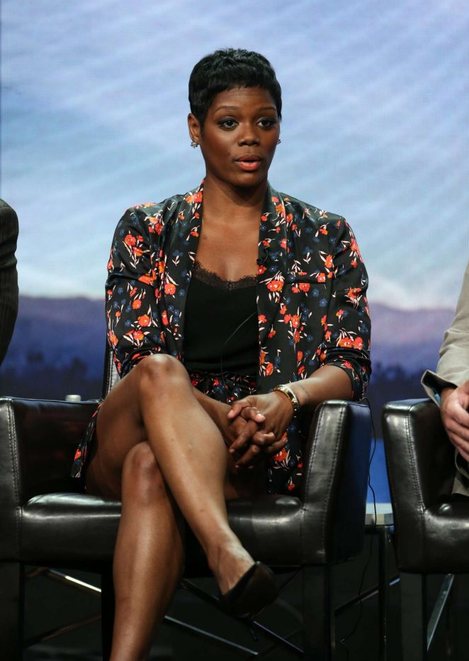 Afton Williamson - 'The Rookie' Panel at 2018 TCA Summer Press Tour in Los Angeles