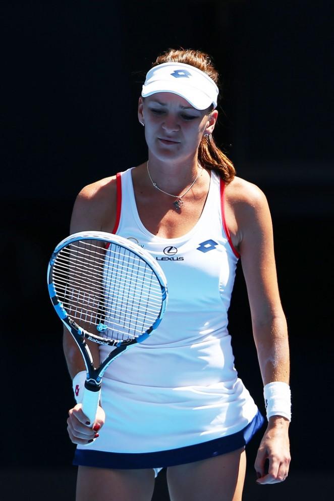 Agnieszka Radwanska - 2015 Australian Open
