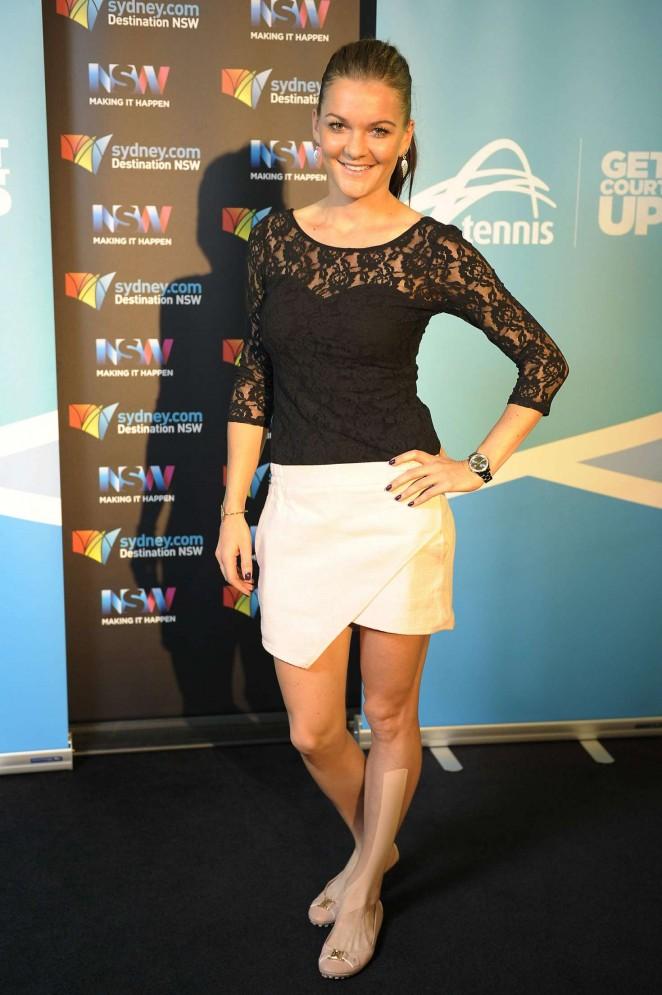 Agnieszka Radwanska - 2016 Sydney International Players Party